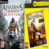 Assassins Creed  IV Black Flag + Kingdoms Of Amalur Reckoning PC Combo Pack