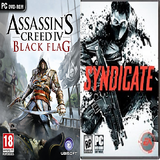 Assassin's Creed IV Black Flag +Syndicate PC Combo Pack