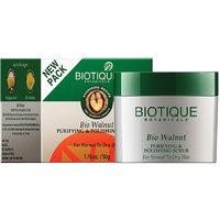 Bio Walnut Purifying & Polishing Scrub For All Skin Types - 50 Gm