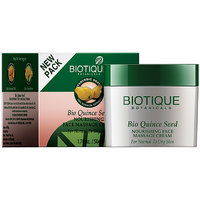 Bio Quince Seed Nourishing Face Massage Cream (For Normal To Dry Skin ) -50 Gm
