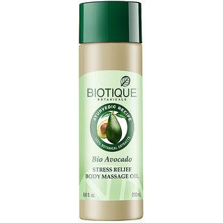 Bio Cado 200Ml (Avocado Stress Relief Body Massage Oil)