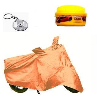 Bull Rider Brand Body cover without mirror pocket Water resistant for Bajaj V15+ Free (Key Chain + Wax Polish) Worth Rs 250