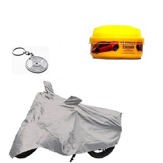 BRB Bike body cover with mirror pocket All weather for  Bajaj Dominar 400+ Free (Key Chain + Wax Polish) Worth Rs 250