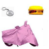 BRB Bike body cover UV Resistant for Mahindra Pantero+ Free (Key Chain + Wax Polish) Worth Rs 250