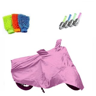 BRB Bike body cover Water resistant for Honda Dio+ Free (Microfiber Gloves + Tyre LED Light) Worth Rs 250