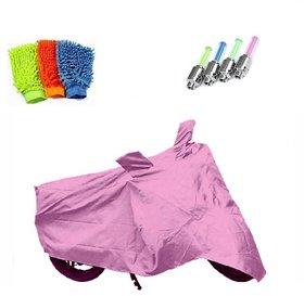 BRB Bike body cover Water resistant for Honda CB Hornet 160R+ Free (Microfiber Gloves + Tyre LED Light) Worth Rs 250