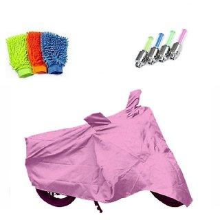 BRB Bike body cover Water resistant for Honda CD 110 Dream+ Free (Microfiber Gloves + Tyre LED Light) Worth Rs 250