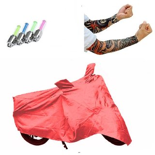 BRB Two wheeler cover Waterproof for Bajaj Pulsar AS 150+ Free (Arm Tattoo  + Tyre LED Light) Worth Rs 250