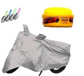 BRB Bike body cover with mirror pocket UV Resistant for Hero Karizma ZMR+ Free (LED Light + Wax Polish) Worth Rs 250