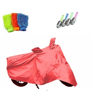 BRB Body cover Waterproof for Mahindra Flyte+ Free (LED Light + Microfiber Gloves) Worth Rs 250