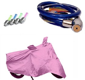 BRB Bike body cover All weather for  Bajaj Pulsar 150 DTS-i+ Free (Helmet Lock + Tyre LED Light) Worth Rs 250