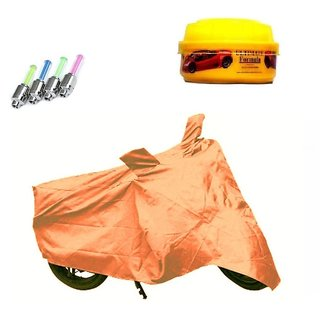 Bull Rider Brand Body cover without mirror pocket with Sunlight protection LML NV ES+ Free (LED Light + Wax Polish) Worth Rs 250