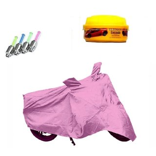 BRB Bike body cover Perfect fit for Hero Splendor NXG+ Free (LED Light + Wax Polish) Worth Rs 250