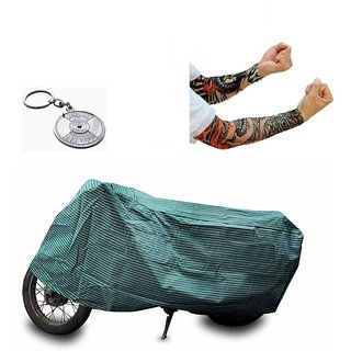Bull Rider Brand Two wheeler cover with mirror pocket All weather for  Suzuki Access 125+ Free (Helmet Lock + Arm Sleeves) Worth Rs 250