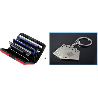 Combo Offer Aluma Wallet & Poker Keychain