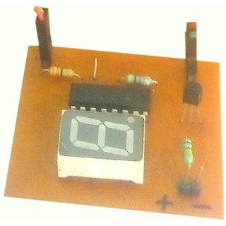 Electronics mini project (object counter/visitor counter)