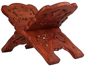 Wooden Book Stand/ Rehal/ Wooden Holy Book Stand