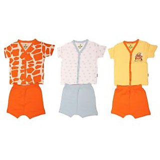 f7f4a9ba258d Buy BABY BABA SUIT 3 PC DRESS COMBO UNISEX 4 TO 8 MONTH BABY Online ...