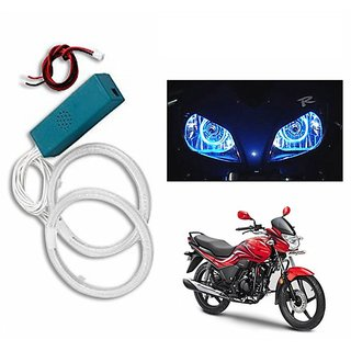Takecare Angel Eyes Blue Light For Bajaj Pulsar 180 Dts-I Ug Iv