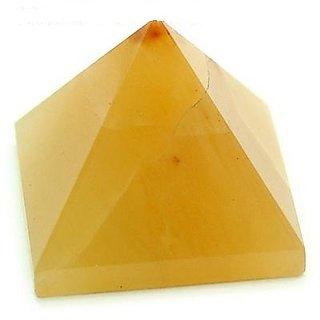 Yellow-Aventurine Pyramid - Yellow