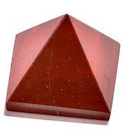 Red-Jasper Pyramid - Red