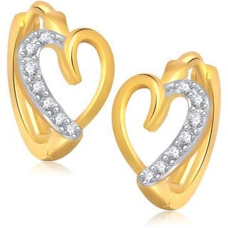 VK Jewels Sweet Heart Gold Plated Bali - BALI1051G VKBALI1051G