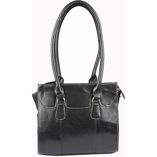 Glety Black Hand Bag
