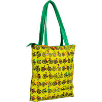 The Crazy Me Retro Cycle  Tote Bag