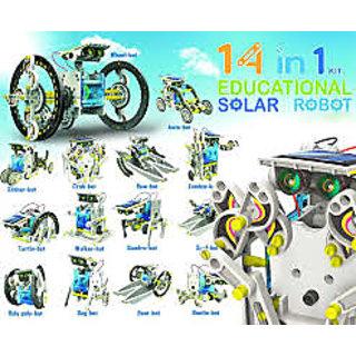 14-in-1 Solar Robot Kit / 14 in 1 Solar DIY Robot Toy