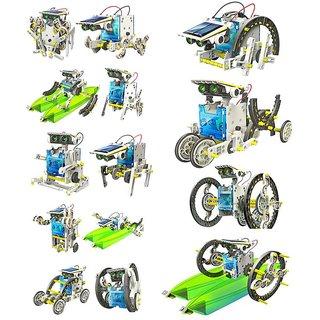Solar 14 in 1 Educational Robot Kit