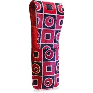 arpera Sofia Leather pen case red C11557-4
