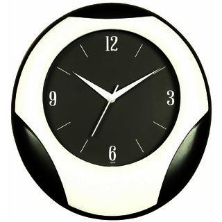 ShaRivz Rugby Style Wall Clock - Black