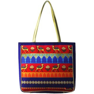 Classic Silk Dessert Parade Handbag