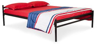Furniturekraft Double Size Metal Queen Bed