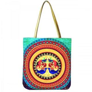 Mandala Canvas Travel Tote