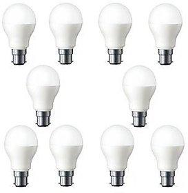 5 W LED Bulb Combo Pack (White, Pack of 10)