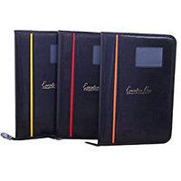 TEP Matrix Sereies Leather Document Bag (20 Pockets)(Set of 3)