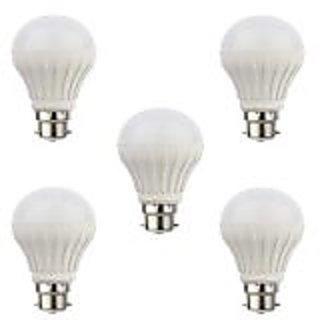 Jugnoo 7w LED Bulb Set Of 5