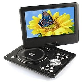 High Quality Portable EVD/DVD Player 7.8 inch. Led Display with 3D Viewing