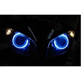 2 Pcs. Blue Angel Eye For Your Car and Bike on Lowest