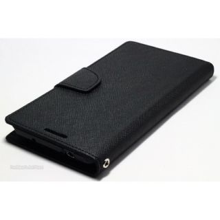 Wallet Flip Cover For Sony Xperia E4