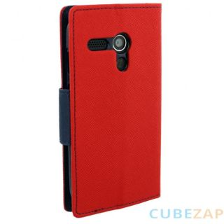 Wallet Style Flip Cover For  Sony Xperia E3