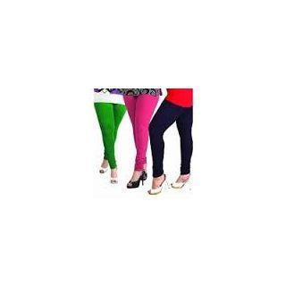 LADIES PACK OF THREE Cotton Legging Xxl Size