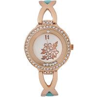 Excelencia Green Metal Wrist Watch 642969834020