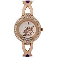 Excelencia Purple Metal Wrist Watch 623195328569