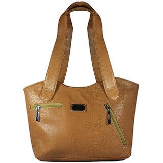 Jerkeen Brown Ladies Hand Bag for Women - JK005
