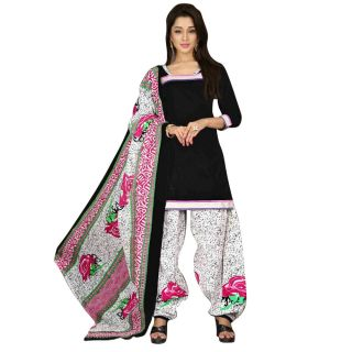 Pulp Mango Media Cotton Printed Salwar Suit Dupatta Material  PM1205