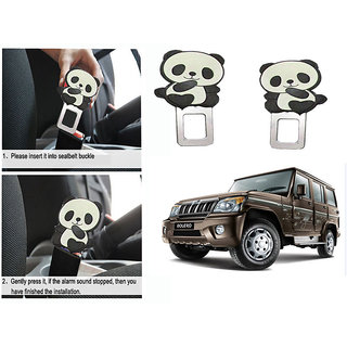 Takecare Safety Seat Belt Buckle Alarm Stopper Clip Clamp For Mahindra Bolero 2011 Type-3