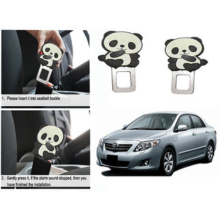 Takecare Safety Seat Belt Buckle Alarm Stopper Clip Clamp For Toyota Corolla Altis New