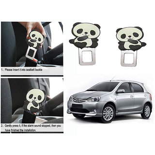 Takecare Safety Seat Belt Buckle Alarm Stopper Clip Clamp For Toyota Etios Liva